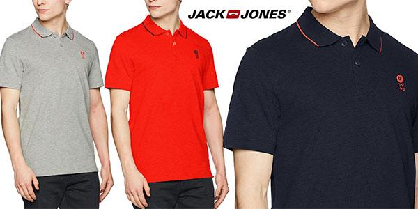 Polo de manga corta Jack & Jones costone SS Noos para hombre barato