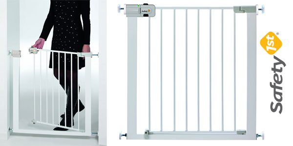 Barrera puerta de seguridad Safety 1st Easy Close para niños y mascotas barata en Amazon