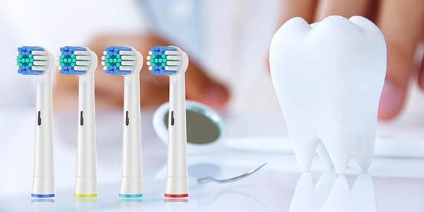 Pack de 16 recambios compatibles para cepillo eléctrico Oral-B barato