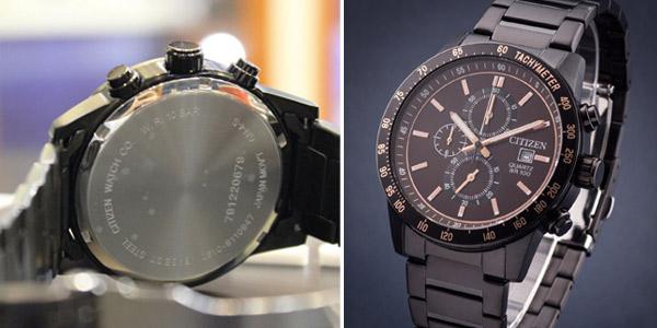 Reloj cronógrafo Citizen AN3605-55X chollo en Amazon