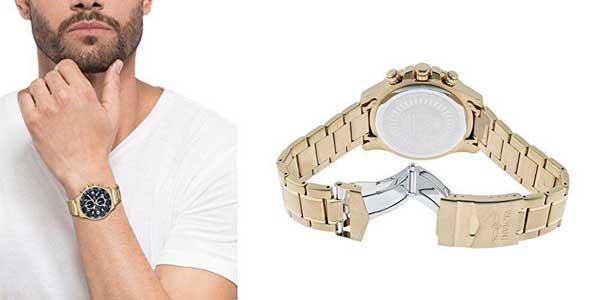 Reloj cronógrafo Invicta Specialty 14878 chapado en oro para hombre chollo en Amazon