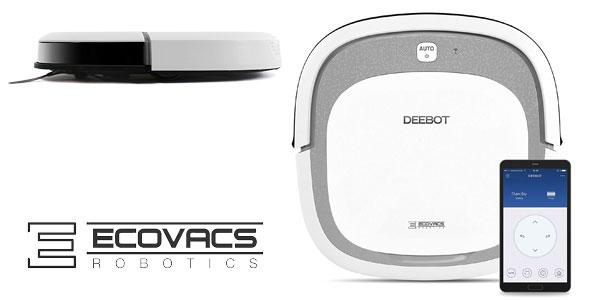 Robot aspirador Ecovacs Robotics Deebot Slim2 ultrafino, preparado para pelo de mascotas barato en Amazon