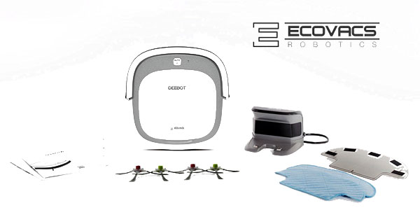 Robot aspirador Ecovacs Robotics Deebot Slim2 ultrafino, preparado para pelo de mascotas oferta en Amazon