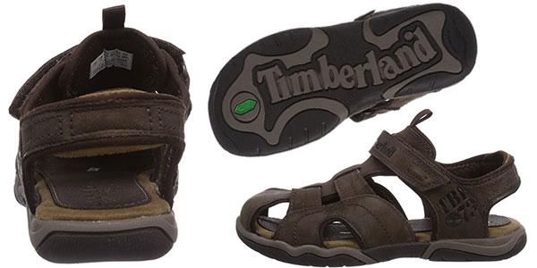 Sandalias de cuero Timberland Oak Bluffs infantiles baratas