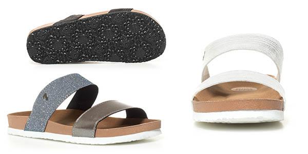sandalias planas para mujer Gioseppo Isaure oferta