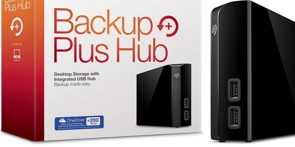 Disco duro externo Seagate Backup Plus Hub