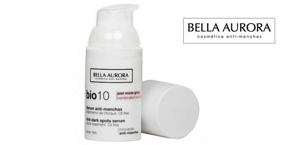 Serum de tratamiento de choque antimanchas Bella Aurora BIO 10 para piel mixta-grasa chollazo en Amazon