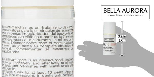 Serum de tratamiento de choque antimanchas Bella Aurora BIO 10 para piel mixta-grasa chollo en Amazon