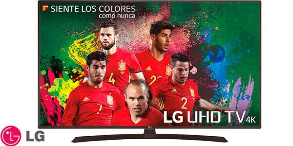 Smart TV LG 43UJ635V UHD 4K de 43 pulgadas rebajada