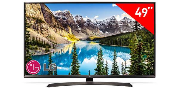 """Smart TV LG 49UJ635V UHD 4K de 49"""""""