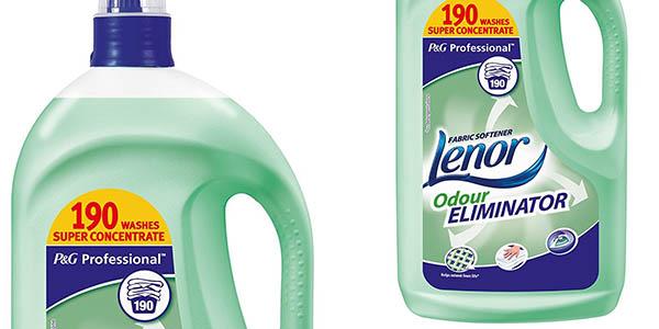 suavizante para ropa Lenor anti-olores de 190 lavados oferta