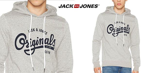 Sudadera Jack & Jones Jorhawl Sweat Hood con capucha para hombre barata