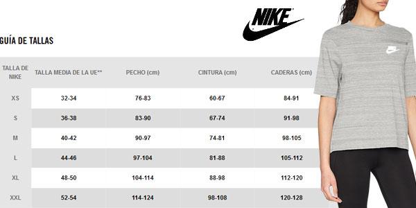 Camiseta Nike Women's Sportswear Advance 15 Top de manga corta para mujer chollazo en Amazon