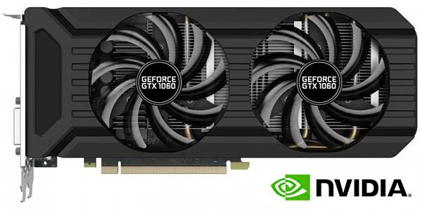 Tarjeta Gráfica Palit NVIDIA GeForce GTX 1060 de 6GB