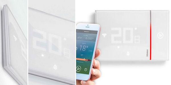 Termostato climatizador Bticino Smarther BTI X8000 con Wi-Fi barato