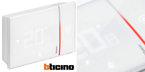 Chollo Termostato climatizador Bticino Smarther BTI X8000 con Wi-Fi