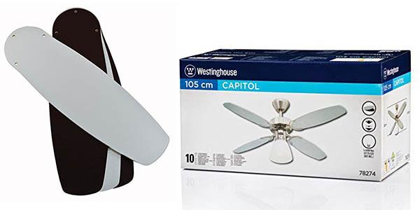 ventilador de techo de diseño moderno Westinghouse Capitol oferta