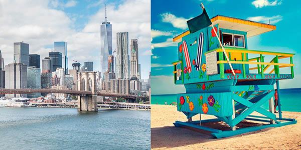 viaje a Nueva York y Miami oferta mayo 2018