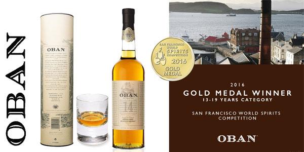 Botella Whisky Escocés Oban 14 de 700 ml barata en Amazon