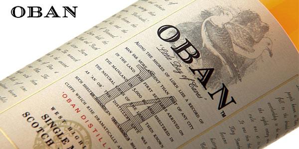 Botella Whisky Escocés Oban 14 de 700 ml chollo en Amazon