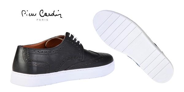 Zapatillas de piel Pierre Cardin Clement para hombre chollazo en eBay