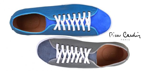 Zapatillas de piel Pierre Cardin Clement para hombre chollo en eBay