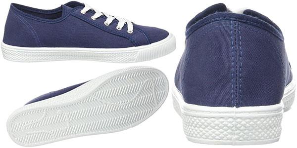 Zapatillas Levi's Malibu de color azul para hombre baratas