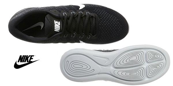 Zapatillas Running Nike Lunarglide 9 en color negro para hombre chollo en Amazon