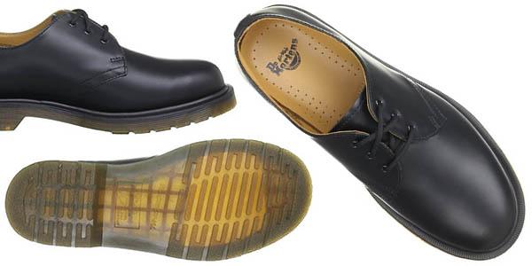 zapatos de piel para hombre Dr. Martens 1461 en oferta