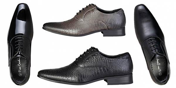 zapatos de vestir para hombre Pierre Cardin en oferta