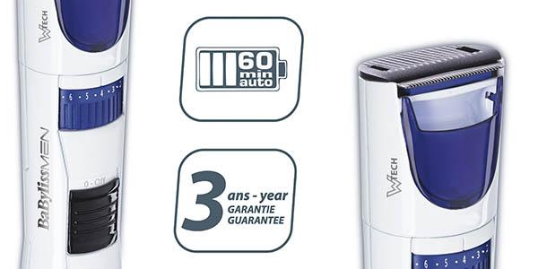 barbero BaByliss T810E resistente al agua con genial relación calidad-precio