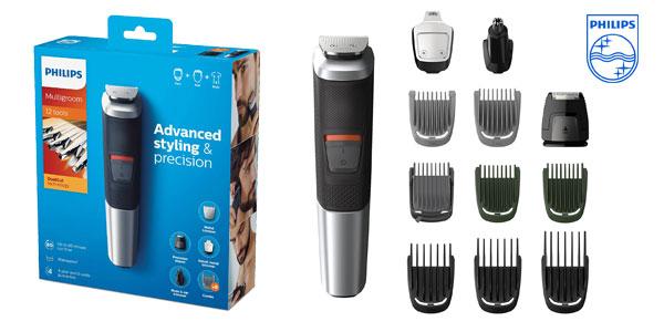 Barbero recargable de precisión Philips MG5740/15 con 12 accesorios barato en Amazon