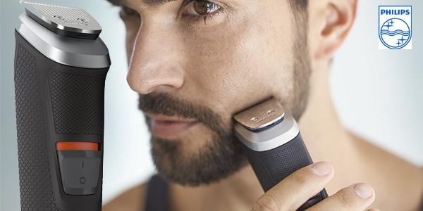 Barbero recargable de precisión Philips MG5740/15 con 12 accesorios chollo en Amazon