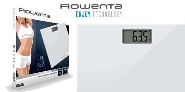 Báscula digital Rowenta Classic Electronic personal scale chollo en Amazon