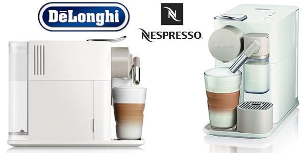 cafetera eléctrica Nespresso DeLonghi Lattissima One barata