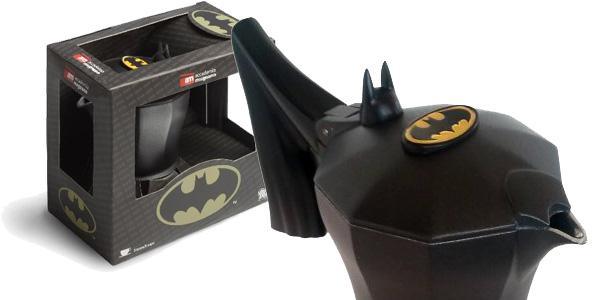 Cafetera italiana Accademia Mugnano Batman el caballero oscuro barata en Amazon