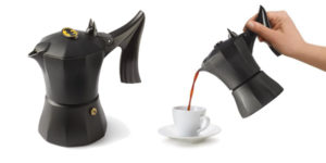Cafetera italiana Accademia Mugnano Batman el caballero oscuro chollo en Amazon