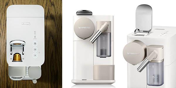 cafetera Nespresso DeLonghi Lattissima One con espumador en oferta