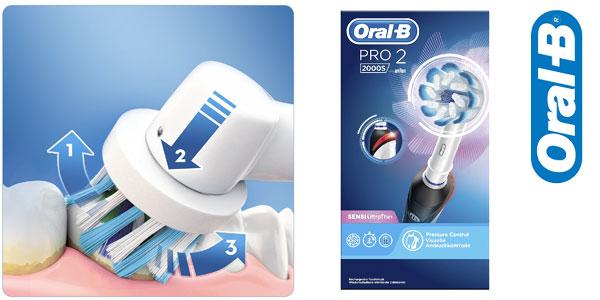 Cepillo de dientes eléctrico recargable Oral-B Pro 2 2000S chollo en Amazon