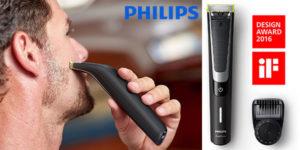 Chollo Afeitadora Philips OneBlade Pro QP6510/30 Wet&Dry recargable