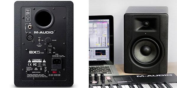 Chollo Pareja de altavoces M-Audio BX5 D3 de 100W