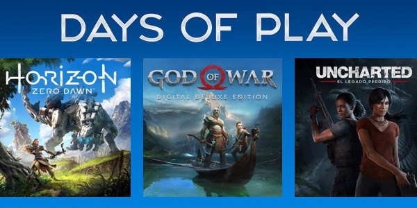 Days of Play ofertas PS4 PS Store