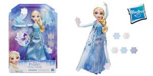 Disney Frozen - Muñeca Elsa copos mágicos de Hasbro barata en Amazon