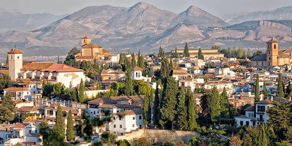 escapada a Granada en verano oferta julio 2018