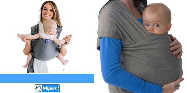 Fular portabebés elástico Mipies unisex barato en Amazon