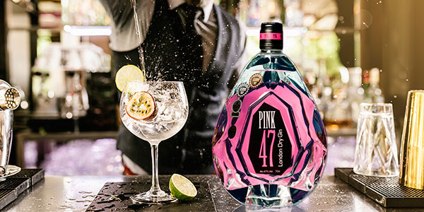 Ginebra Pink 47 de 700 ml barata