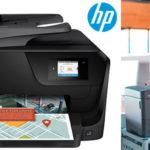 Impresora multifunción HP OfficeJet Pro 8715 de inyección de tinta térmica con Wi-Fi barata