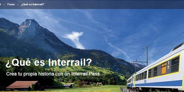 Interrail Pass promoción tickets gratis para viajar por Europa
