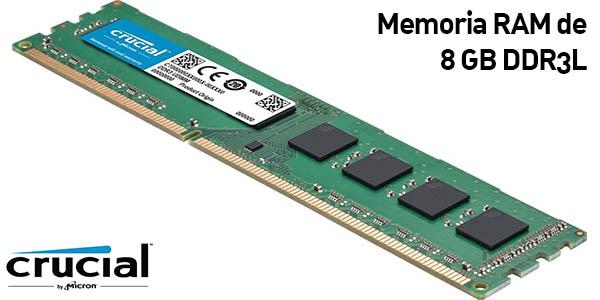 Memoria RAM Crucial CT102464BD160B de 8 GB DDR3