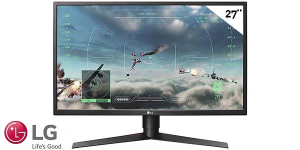 """Monitor gaming LG 27GK750F-B de 27"""" y 240 Hz"""